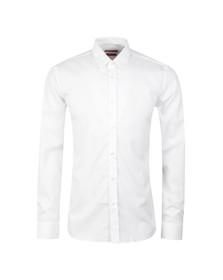 Hugo Mens White Elisha 01 Slim Shirt