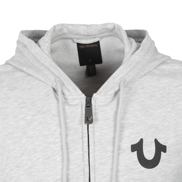 True Religion Mens Grey Crafted With Pride Hoody main image