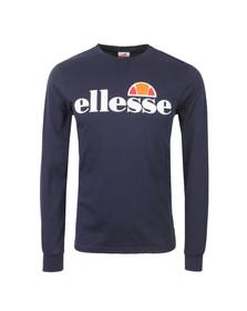 Ellesse Mens Blue Bianchi Long Sleeve T Shirt