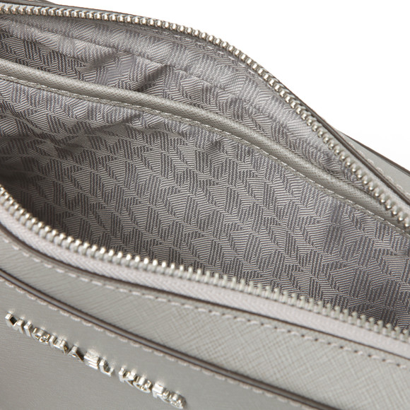 Michael Kors Womens Grey Jet Set Travel Shoulder Bag main image