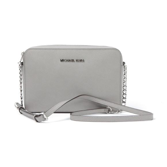 Michael Kors Womens Grey Jet Set Travel Shoulder Bag main image