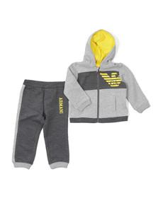 Armani Baby Boys Grey BDT02 Tracksuit