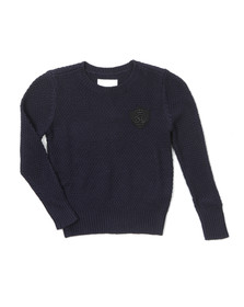 Diesel Boys Blue Krozza Knitted Jumper