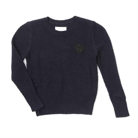 Diesel Boys Blue Krozza Knitted Jumper main image
