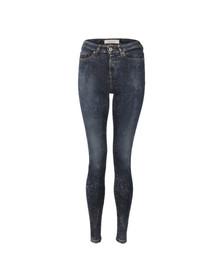Maison Scotch Womens Blue Haut Skinny Jean
