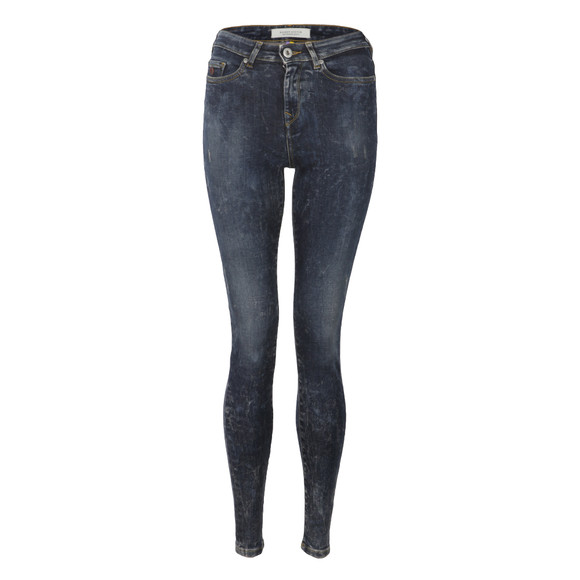 Maison Scotch Womens Blue Haut Skinny Jean main image