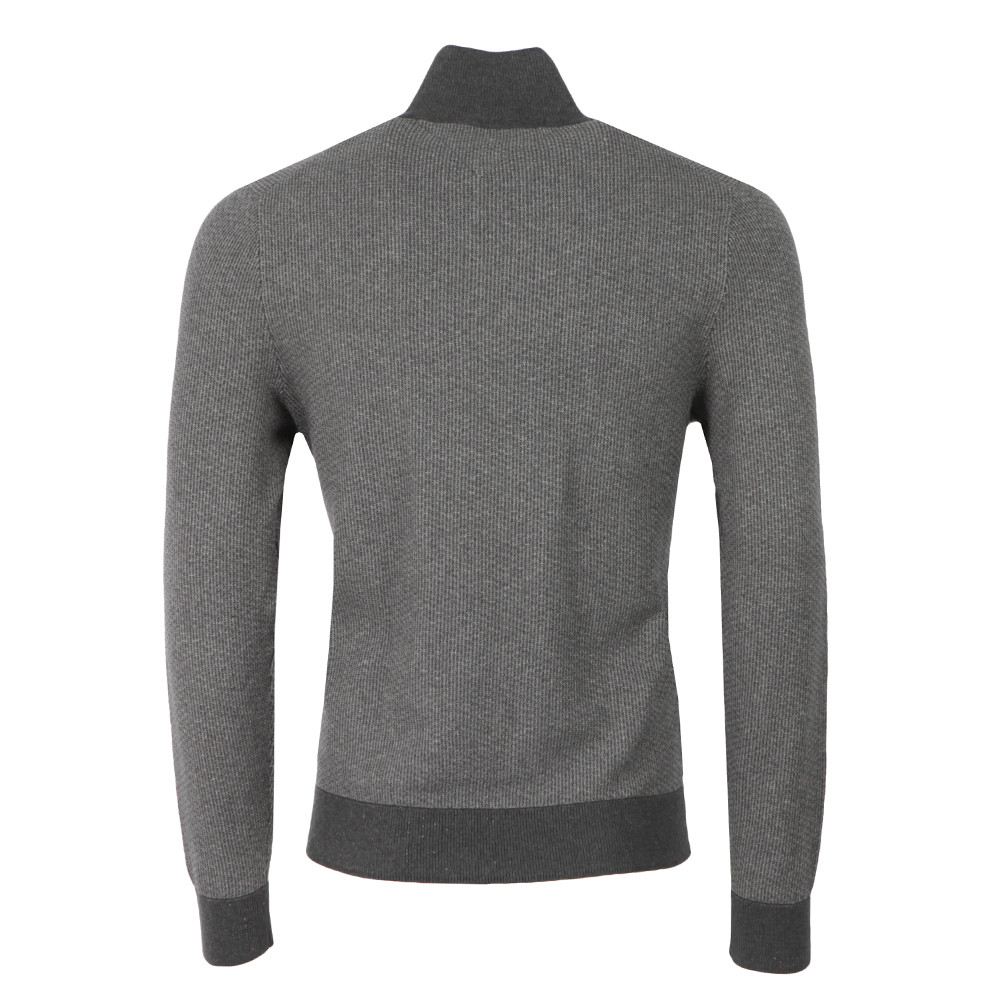 Structured Half Button Sweat  main image