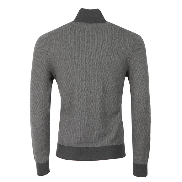 Tommy Hilfiger Mens Grey Structured Half Button Sweat  main image