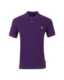 Paul Smith Jeans Mens Purple Basic Polo