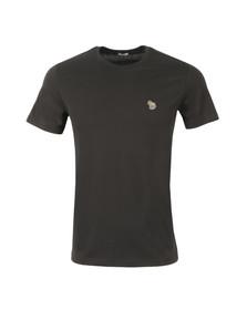 Paul Smith Jeans Mens Black Zebra Badge Crew T-Shirt