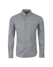 Paul Smith Jeans Mens Blue Tailored Fit Check Shirt