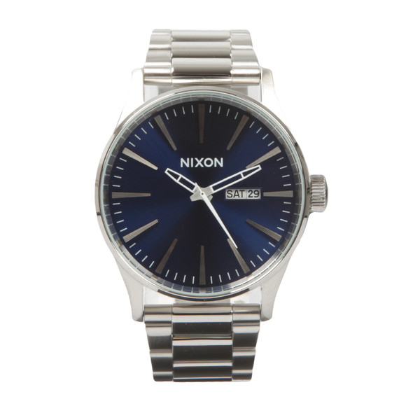 Nixon Mens Blue Nixon Sentry SS Watch main image