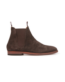 H By Hudson Mens Brown Tamper Suede Boot