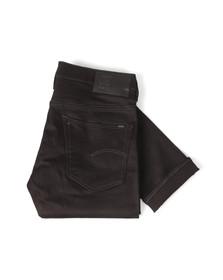 G-Star Mens Black 3301 Slim Jean