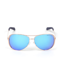 Michael Kors Womens Blue MK5004 Chelsea Sunglasses