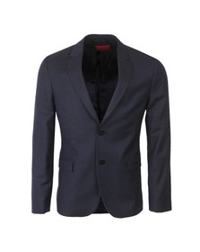 Hugo Mens Blue Arnando Dot Blazer