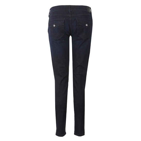 True Religion Womens Blue Casey Low Rise Skinny Jean main image