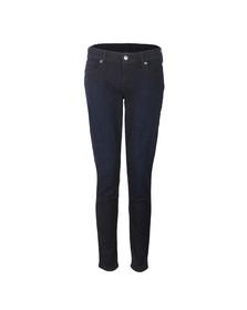 True Religion Womens Blue Casey Low Rise Skinny Jean