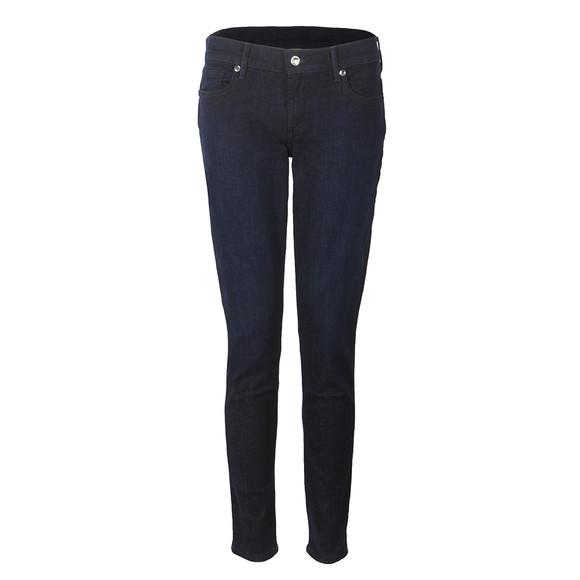 True Religion Womens Blue Casey Low Rise Skinny Jean