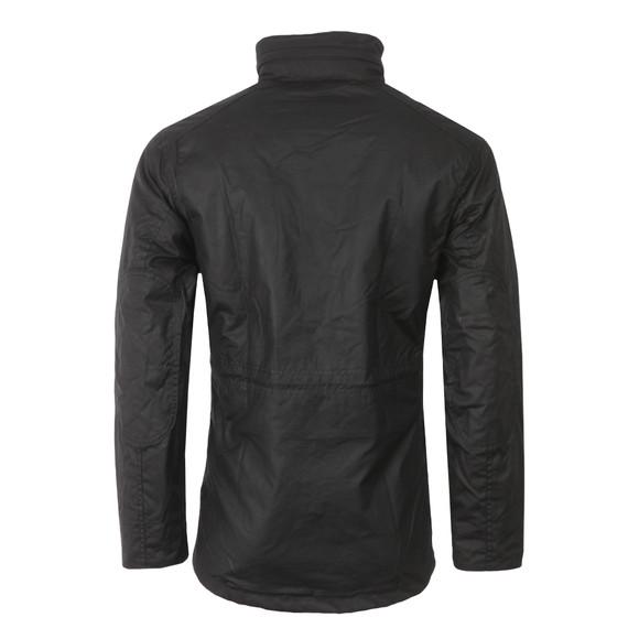 Barbour Lifestyle Mens Black Sapper Wax Jacket main image