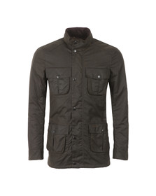 Barbour Lifestyle Mens Green Corbridge Wax Jacket