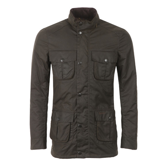 Barbour Lifestyle Mens Green Corbridge Wax Jacket main image