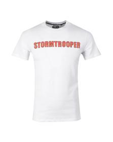 Jack & Jones Mens White Trooper T-Shirt