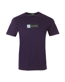 Paul Smith Jeans Mens Purple Regular Plain Monkey T Shirt