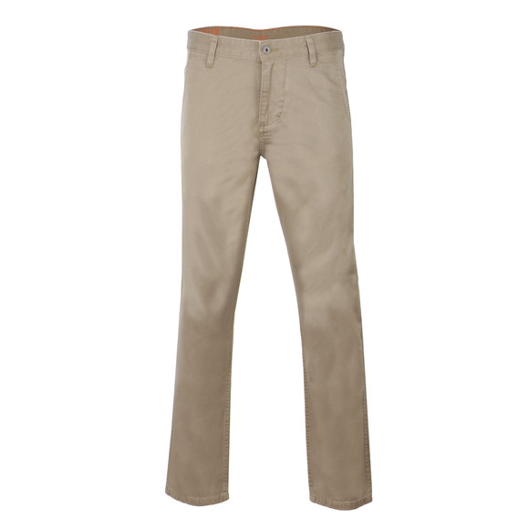 Dockers Mens Beige Alpha Khaki Tapered Chino