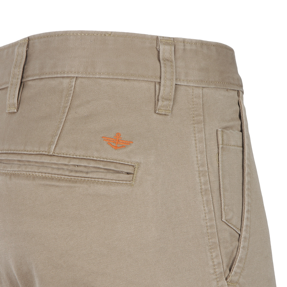 Alpha Khaki Tapered Chino main image