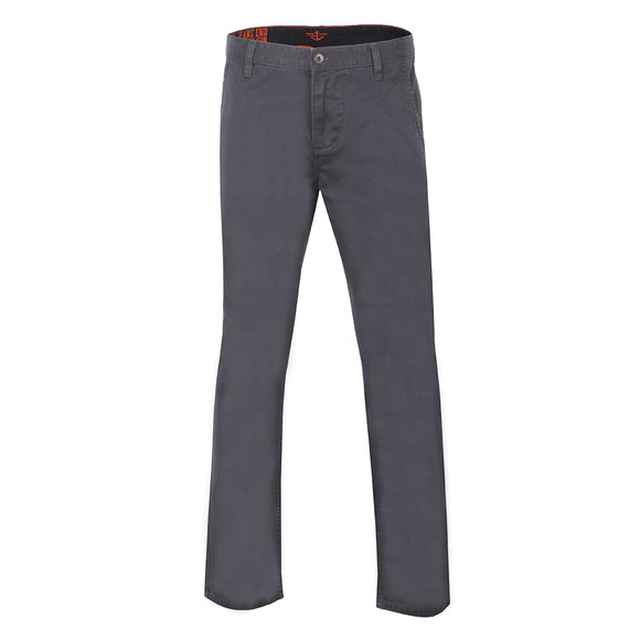 Dockers Mens Blue Alpha Khaki Tapered Chino