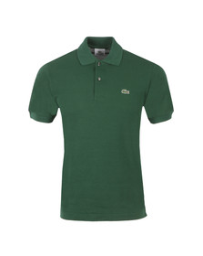 Lacoste Mens Green L1212 Vert Plain Polo Shirt
