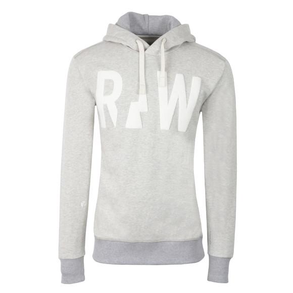 G-Star Mens Grey Grount Hooded Sweatshirt main image