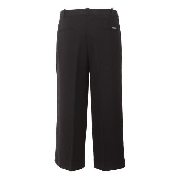 Michael Kors Womens Black Flared Trouser