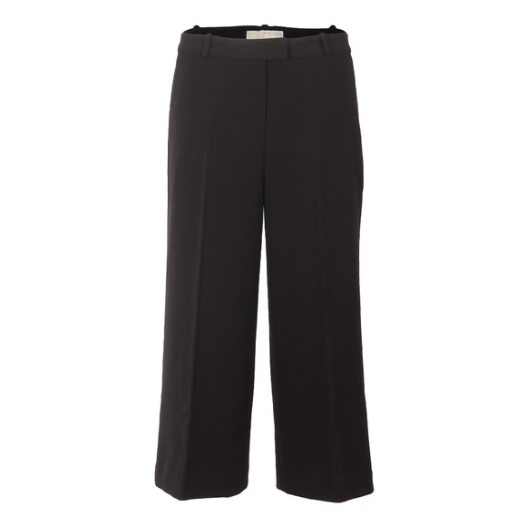Michael Kors Womens Black Flared Trouser