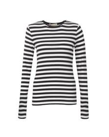 Michael Kors Womens Blue Scott Stripe T Shirt