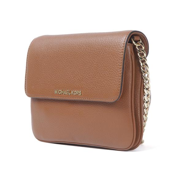 Michael Kors Womens Brown Bedford Flap Crossbody Bag main image