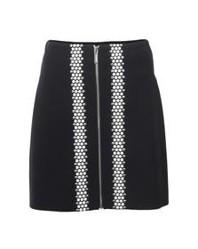 Michael Kors Womens Blue Hotfix Skirt