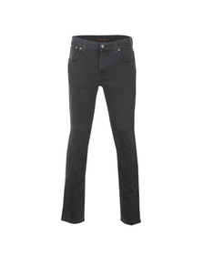 Nudie Jeans Mens Grey Grim Tim Jeans