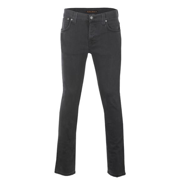 Nudie Jeans Mens Grey Grim Tim Jeans main image