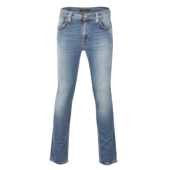 Nudie Jeans Mens Blue Thin Finn Dry Stretch Jean main image