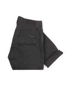 Nudie Jeans Mens Grey Grim Tim Jeans