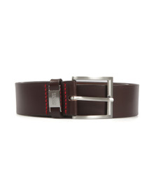 Hugo Mens Brown Connio Leather Belt