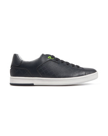 Boss Green Mens Blue Ray Check Trainer