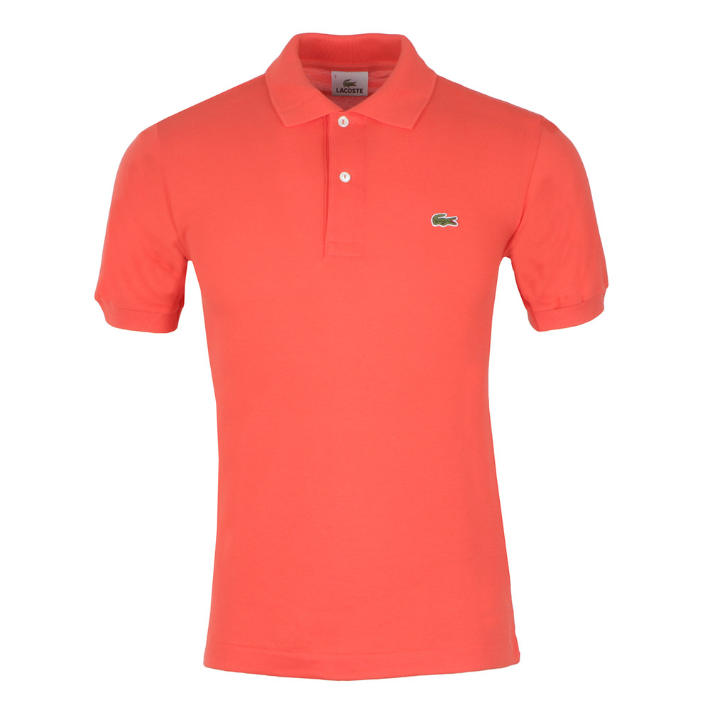 7394f07e Lacoste L1212 Goyave Plain Polo Shirt | Oxygen Clothing