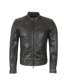 Belstaff Mens Black Outlaw Leather Jacket