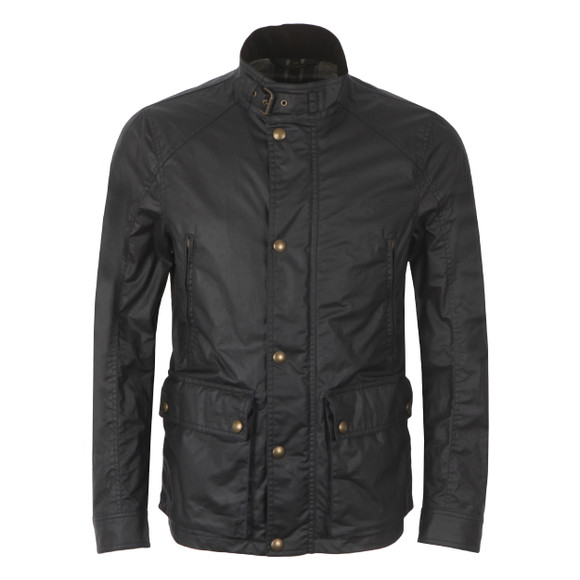 Belstaff Mens Blue New Tourmaster Wax Jacket main image