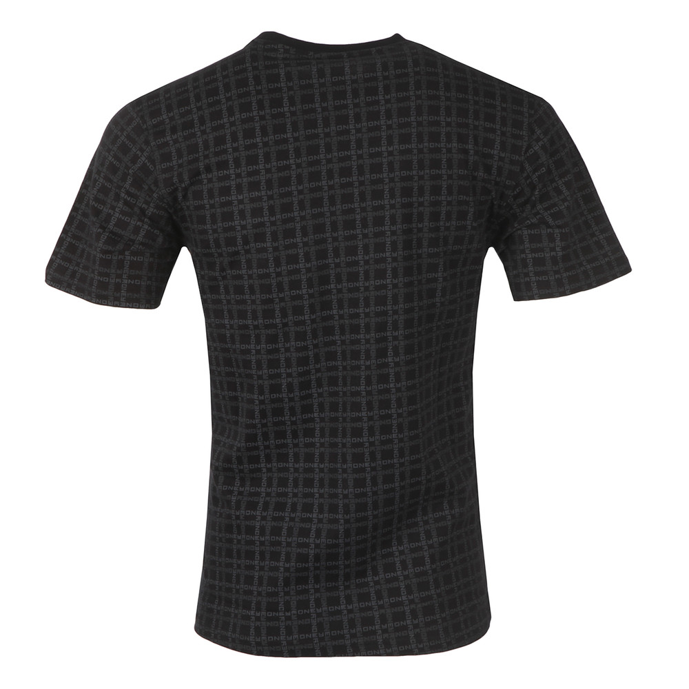 Black Money Grid T Shirt main image