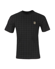 Money Mens Black Black Money Grid T Shirt