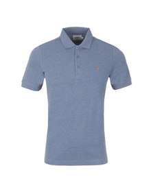 Farah Mens Blue Blaney Polo Shirt